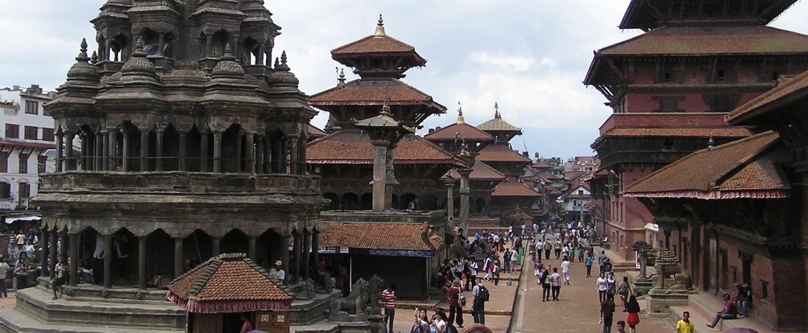 ネパールで海外ボランティア 到着案内